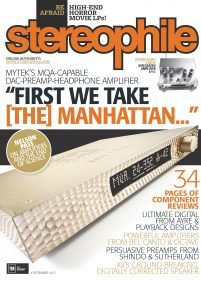 Stereophile Cover